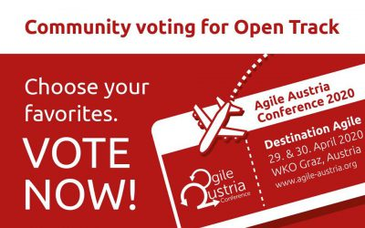 Community Voting der Agile Austria Conference